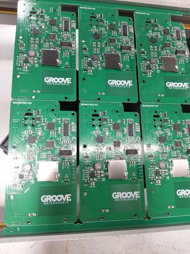Groove PCBs