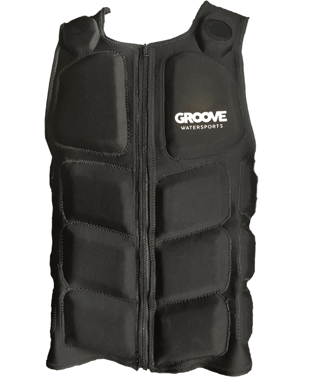 Groove Watersports' the Worlds First Impact Vest with Speakers